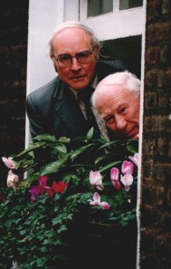 Chris  and Wally at the Ramblers' manifesto launch, 3 February 1992