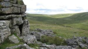 Lints Tor in the Okehampton range
